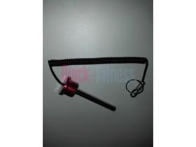 Pincho selector placas 80mm + cordón con anilla