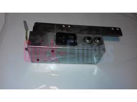 Pieza interruptor con conexión de enchufe cinta de correr Technogym RUN EXCITE 500 (2ª)