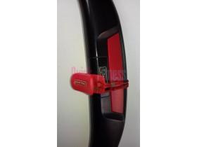 Frontal manetas HRC+cable con pinza+botón Stop Startrac E-TR (2ª)