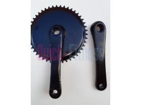 Juego de bielas Isis 10 puntas para bici spinning GAC BK 102