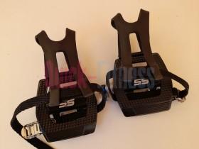 Pedales mixtos con calapies y correas VP-S5 (Gama Alta)