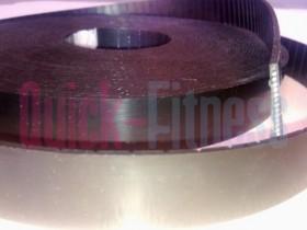 Rollo 25m Cinta de Kevlar de 3cm de ancho con hilos de acero