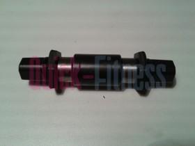 Eje pedalier para Spinner  PRO 6800/ NXT / Velo ( sin rodamientos )